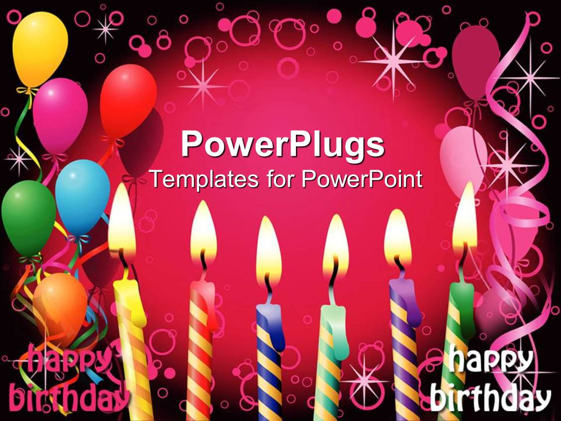 Birthday Party PowerPoint Templates | CrystalGraphics