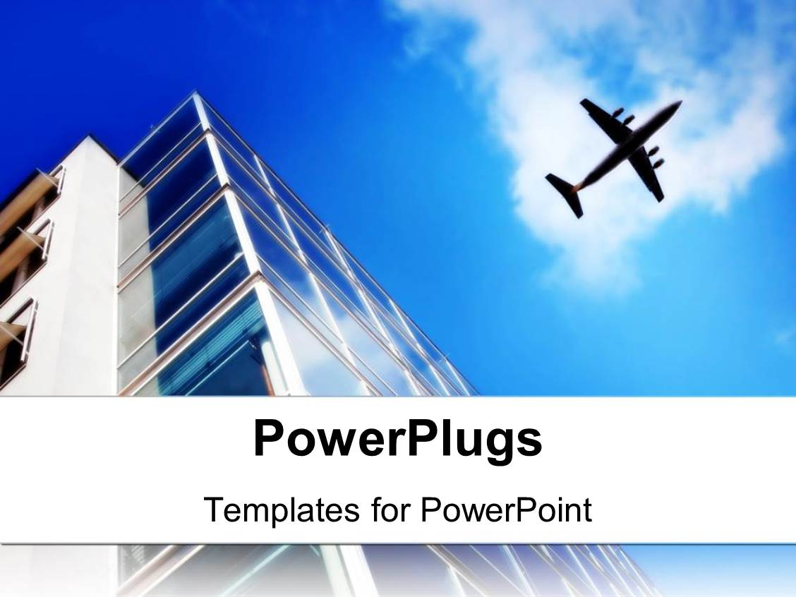 aviation powerpoint templates | crystalgraphics, Modern powerpoint