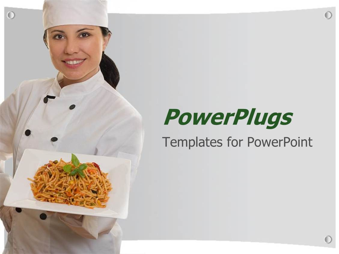 Cook Chef PowerPoint Templates – Chef Templates