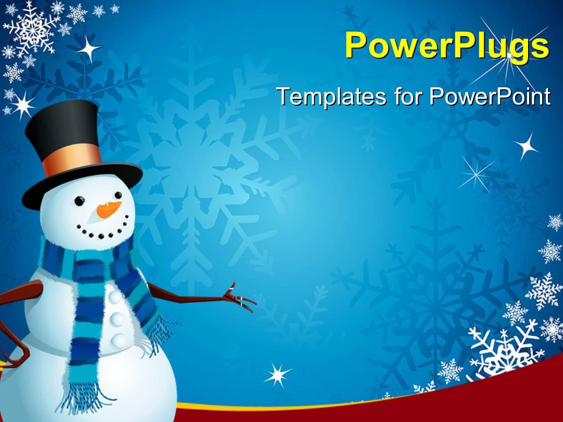 Snowman Powerpoint Template