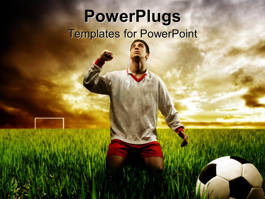 soccer powerpoint templates | crystalgraphics, Modern powerpoint