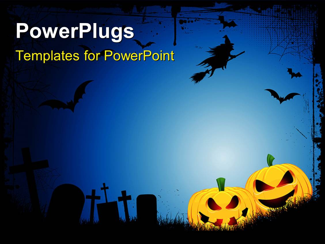 Best Halloween PowerPoint Templates | CrystalGraphics