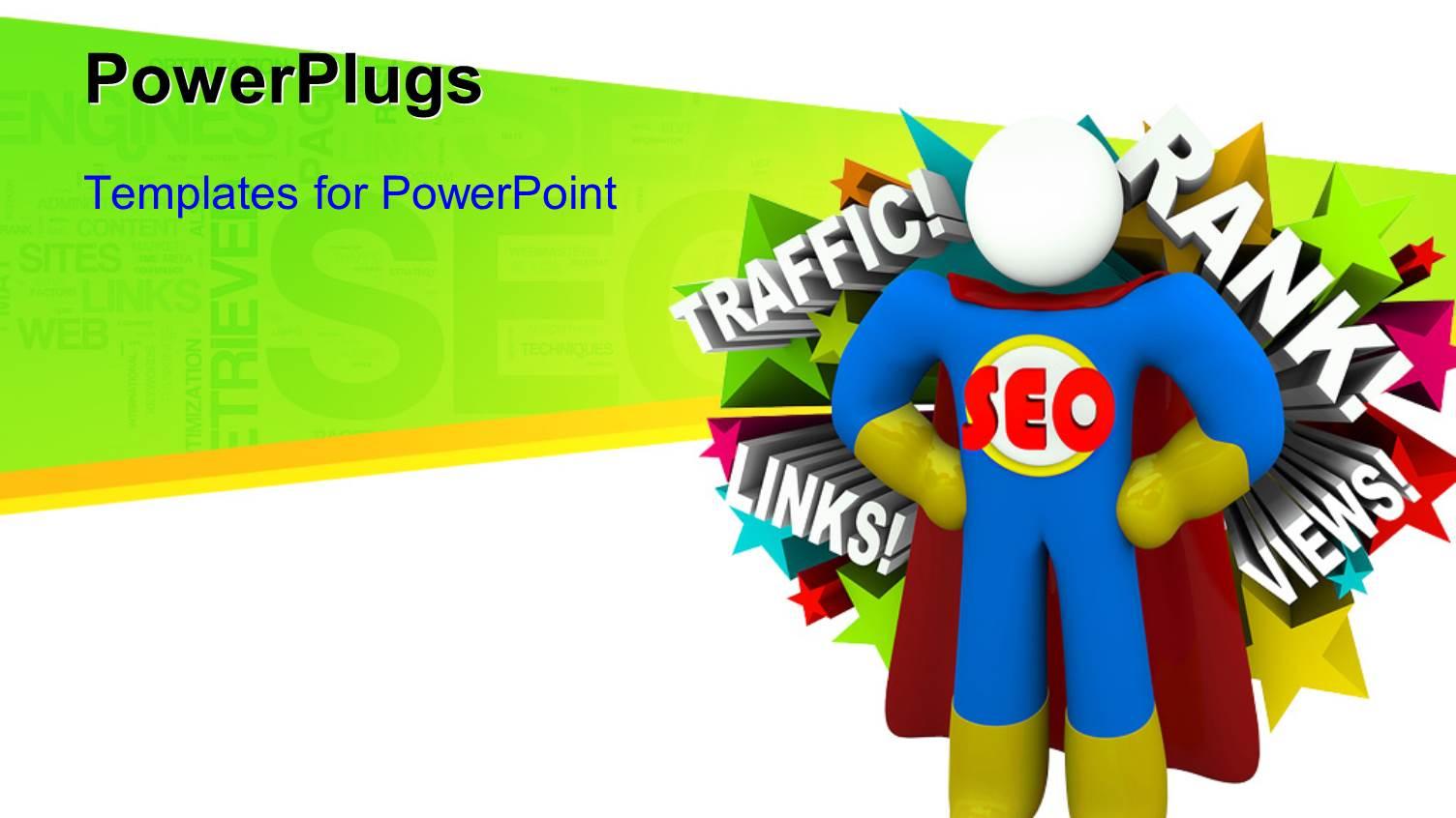 superhero powerpoint template - http://official.khafre.us