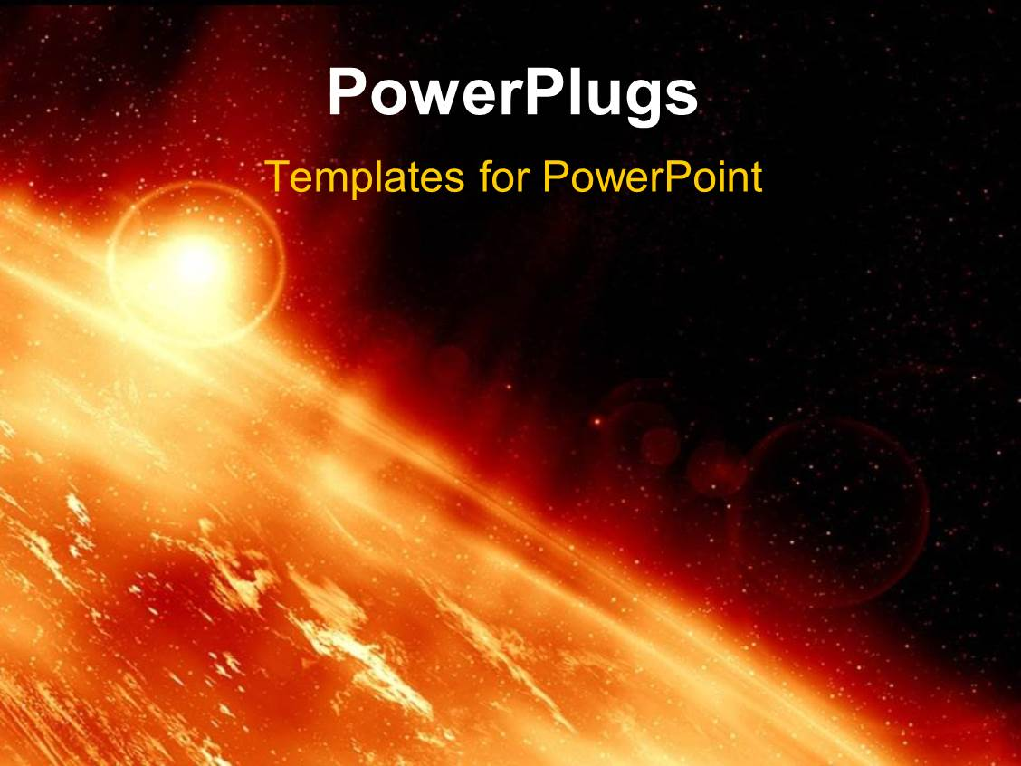 Powerpoint template the surface of the sun along with many powerpoint template displaying the surface of the sun along with many explosions toneelgroepblik Images