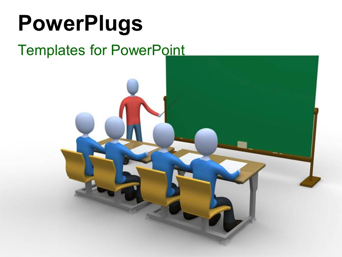 Powerpoint template a teacher in the classroom during lecture 28599 powerpoint template displaying a teacher in the classroom during lecture toneelgroepblik Choice Image