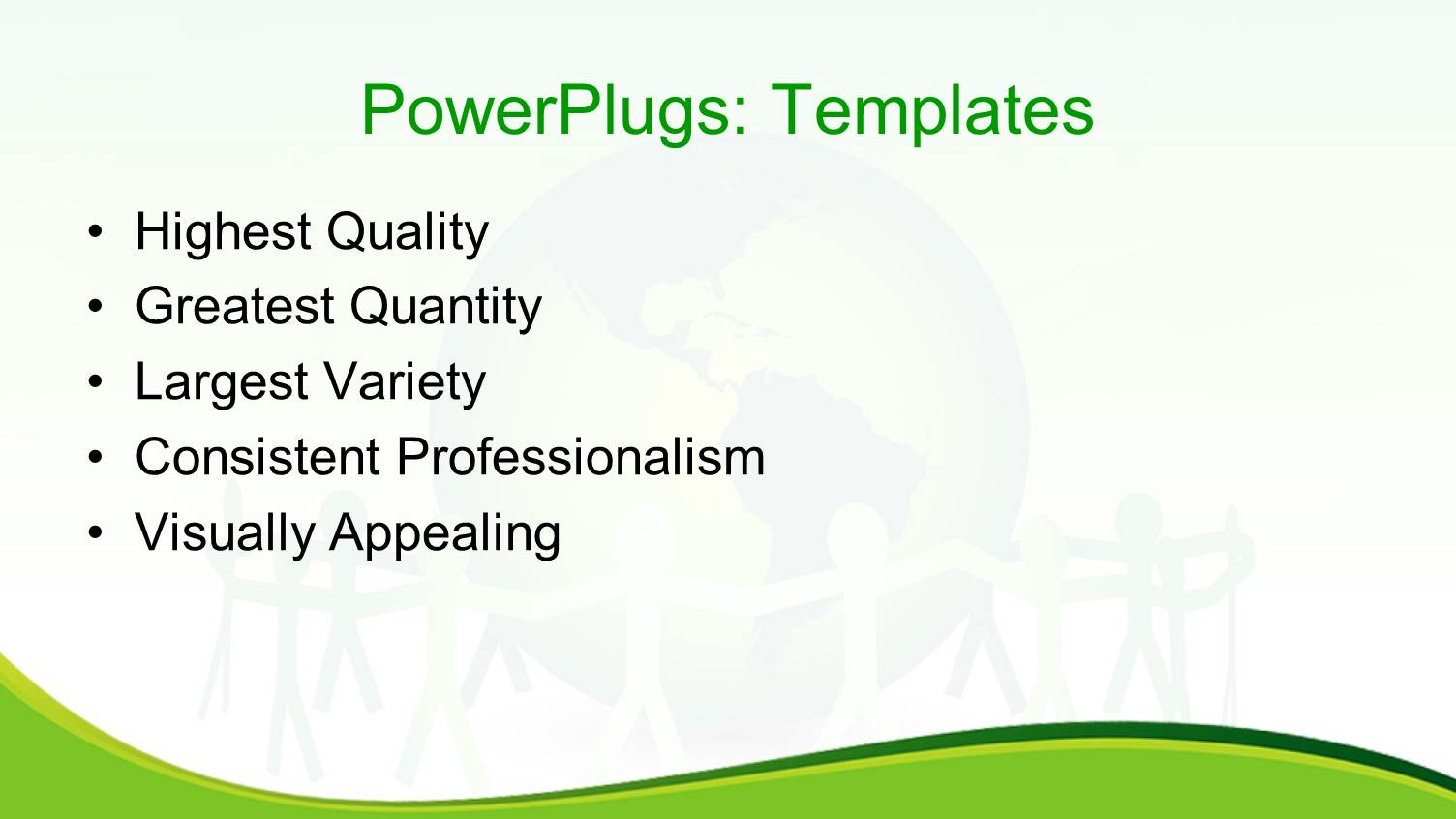 powerpoint template team of paper dolls unite around a