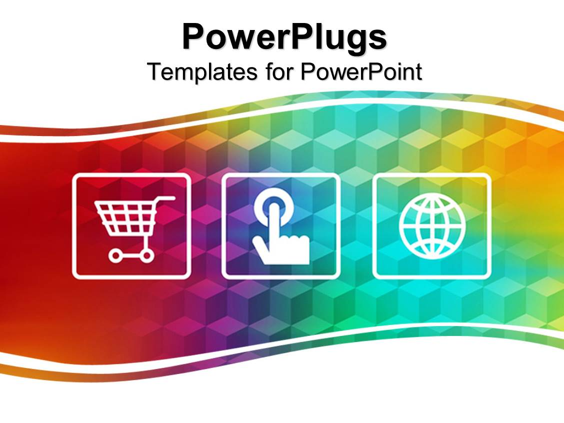 online shopping powerpoint templates  crystalgraphics, Powerpoint
