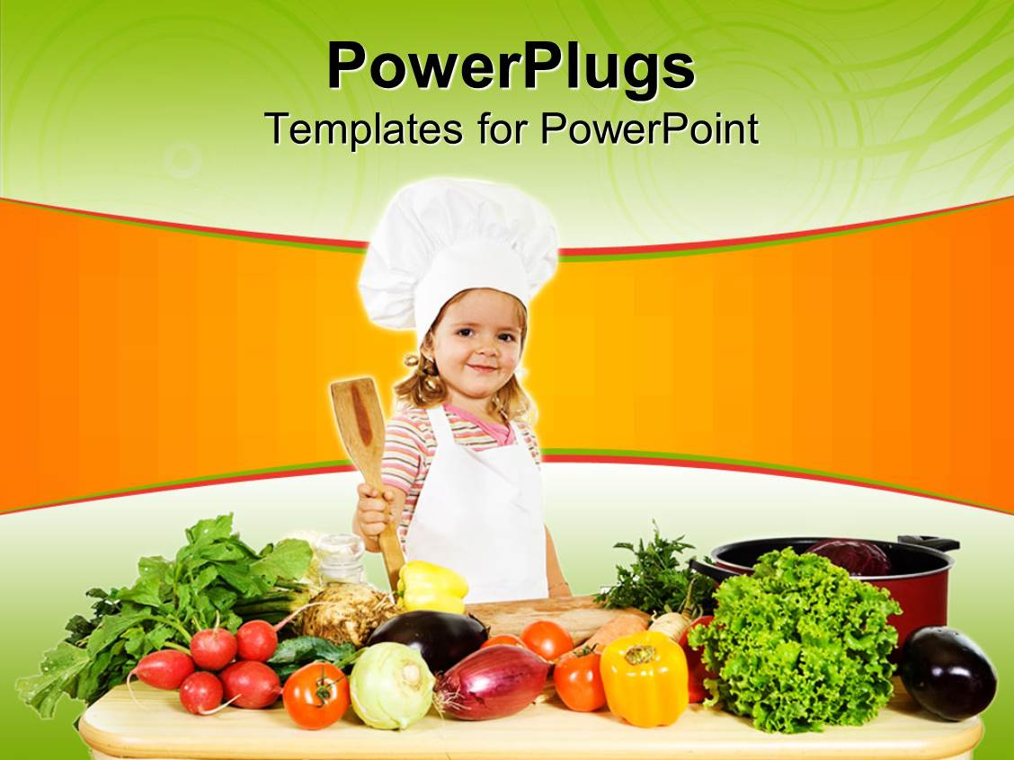cook chef powerpoint templates | crystalgraphics, Modern powerpoint