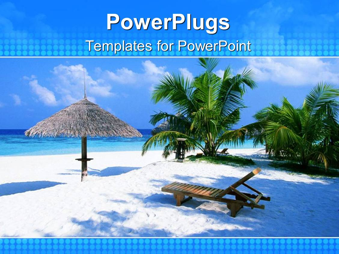 tropical powerpoint template
