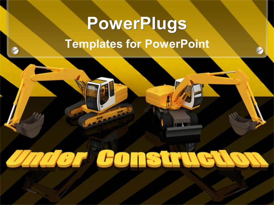 construction powerpoint templates | crystalgraphics, Modern powerpoint