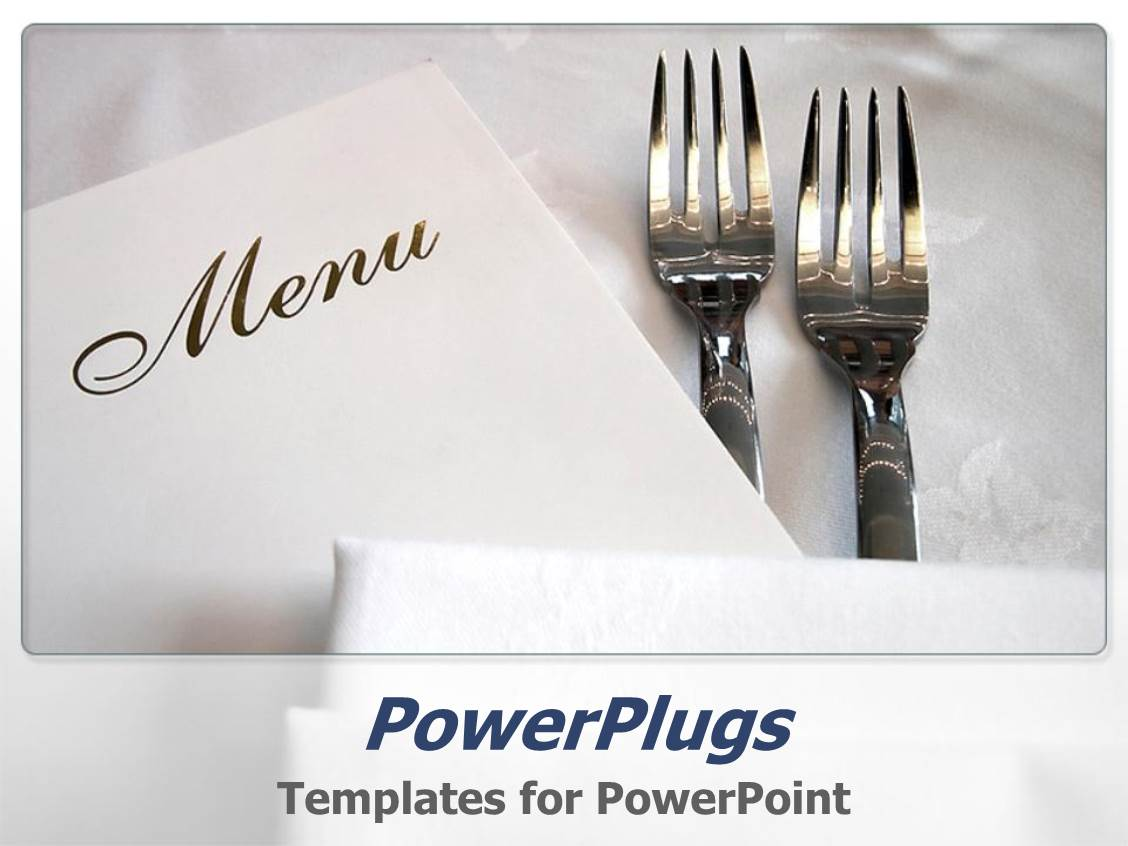 restaurant menu powerpoint templates | crystalgraphics, Modern powerpoint