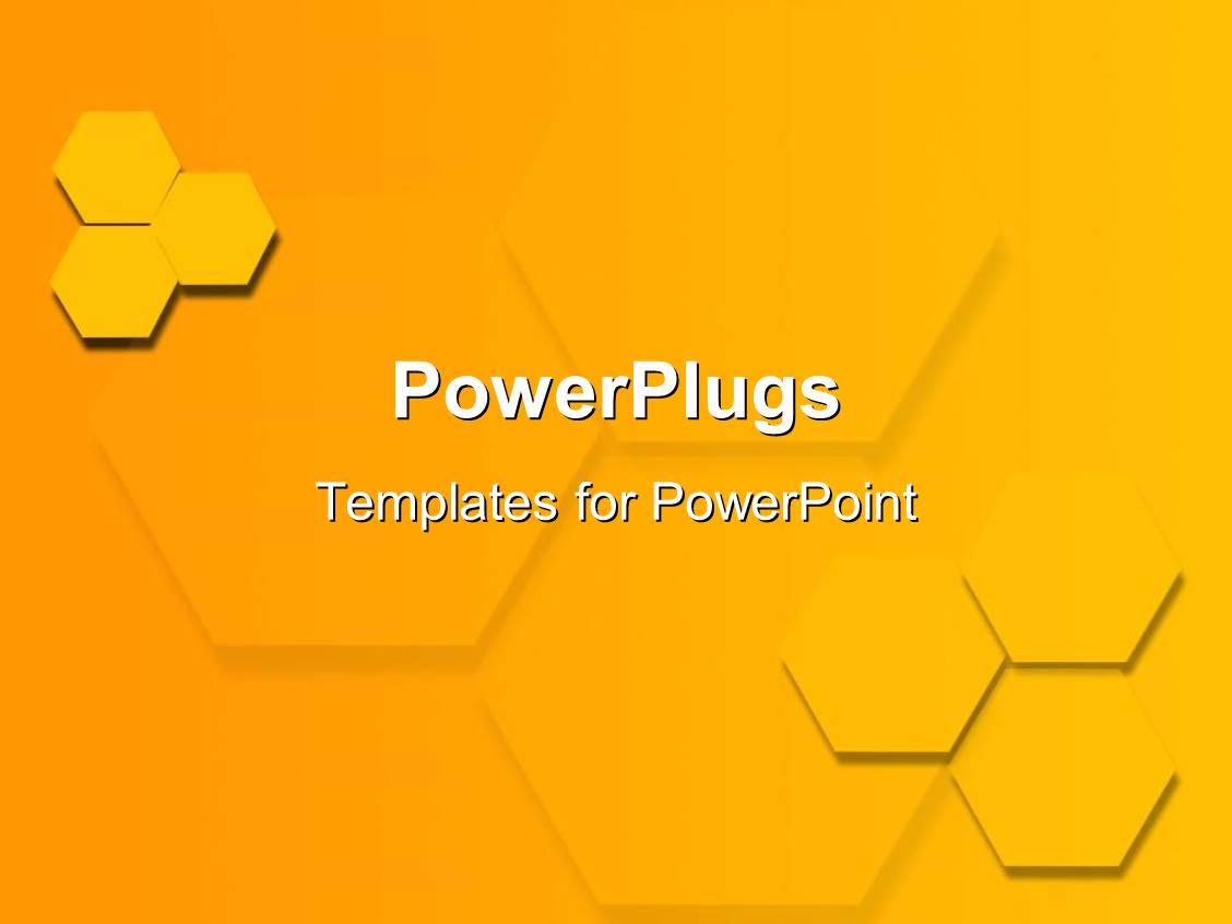 Powerpoint template two groups of three yellow hexagons 13465 powerpoint template displaying two groups of three yellow hexagons toneelgroepblik Image collections