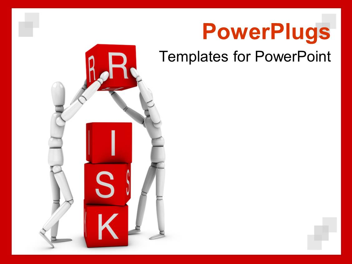 Free powerpoint templates 2529 html free ppt powerpoint templates - Powerplugs Powerpoint Template With Two White 3d Figures Working In Team To Form The Word