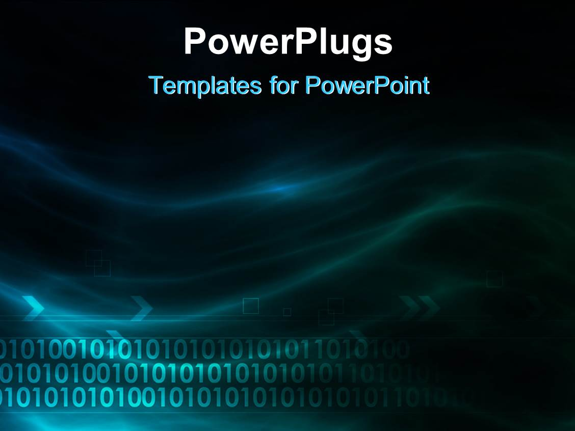 Binary Powerpoint Template