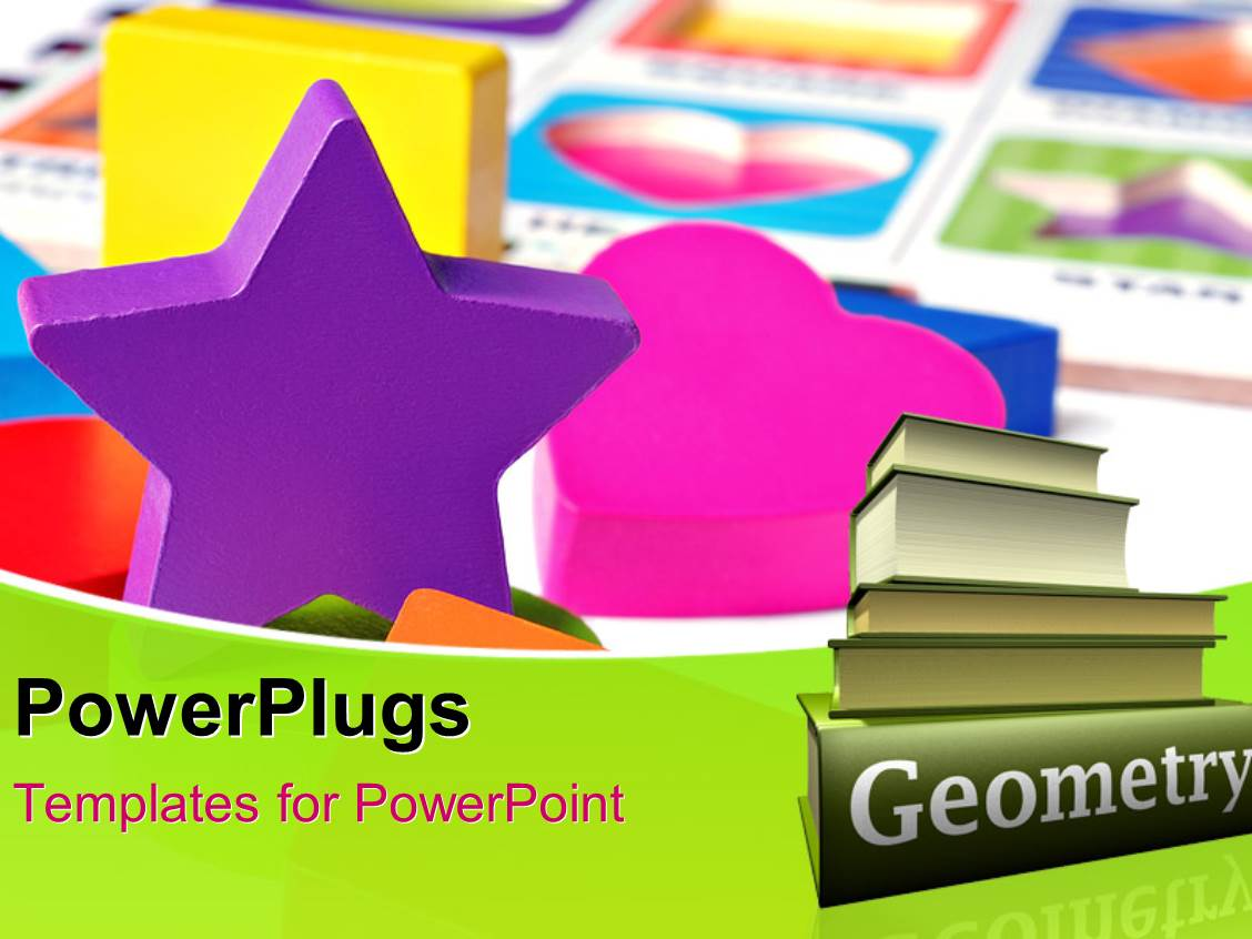 Geometric powerpoint templates crystalgraphics beautiful presentation having various shapes made of plastic with colorful background toneelgroepblik Gallery