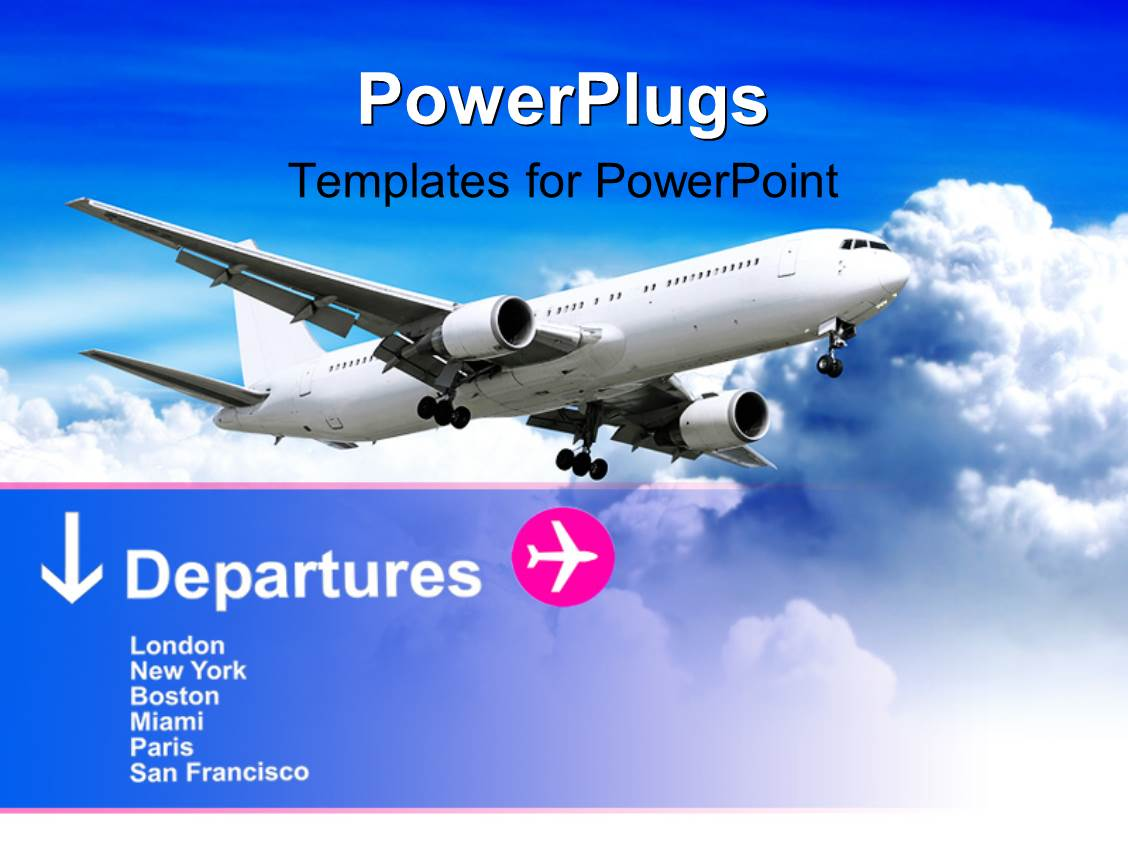 Aviation powerpoint templates image collections templates powerpoint template aviation free images powerpoint template and travel themed powerpoint template gallery templates example free toneelgroepblik Gallery