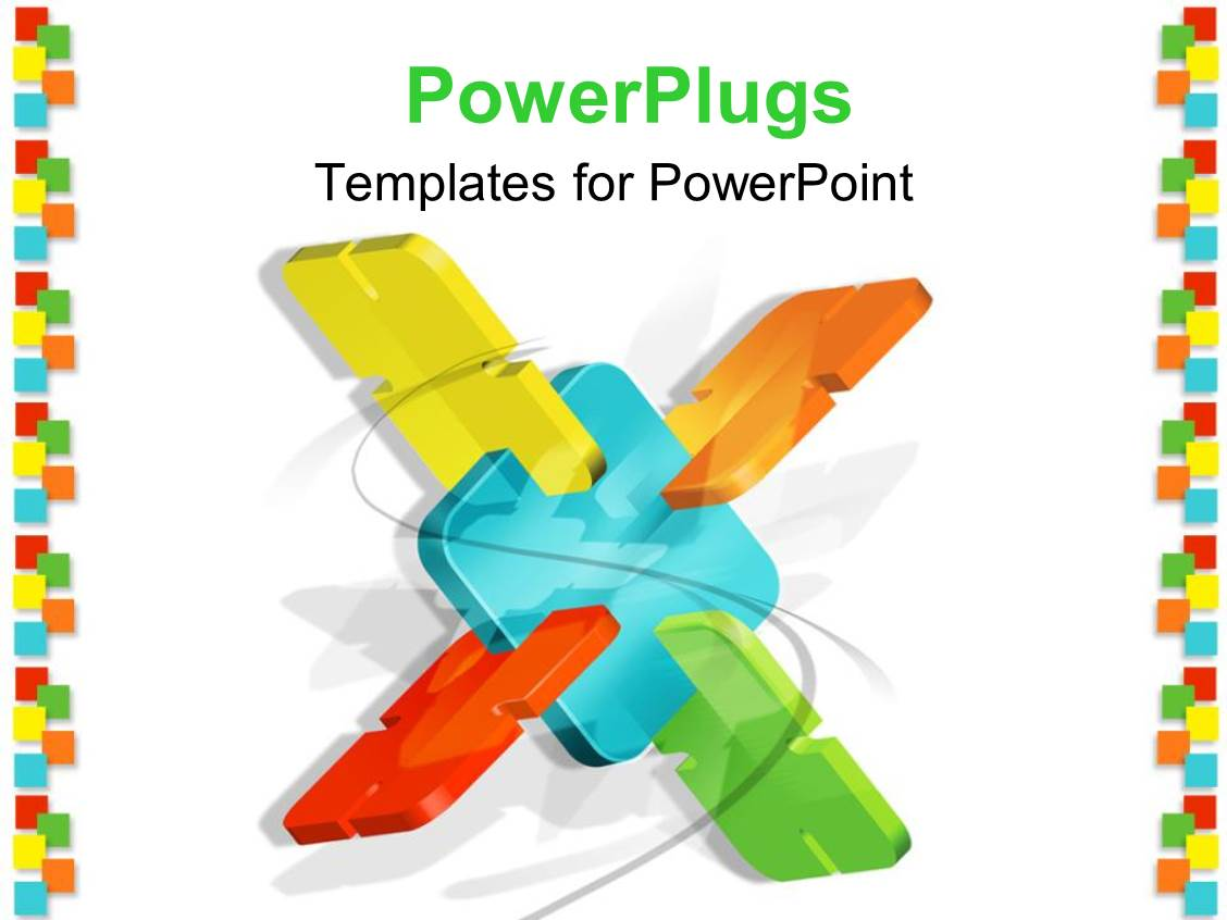 Powerpoint template white background with abstract power for Power plugs powerpoint templates