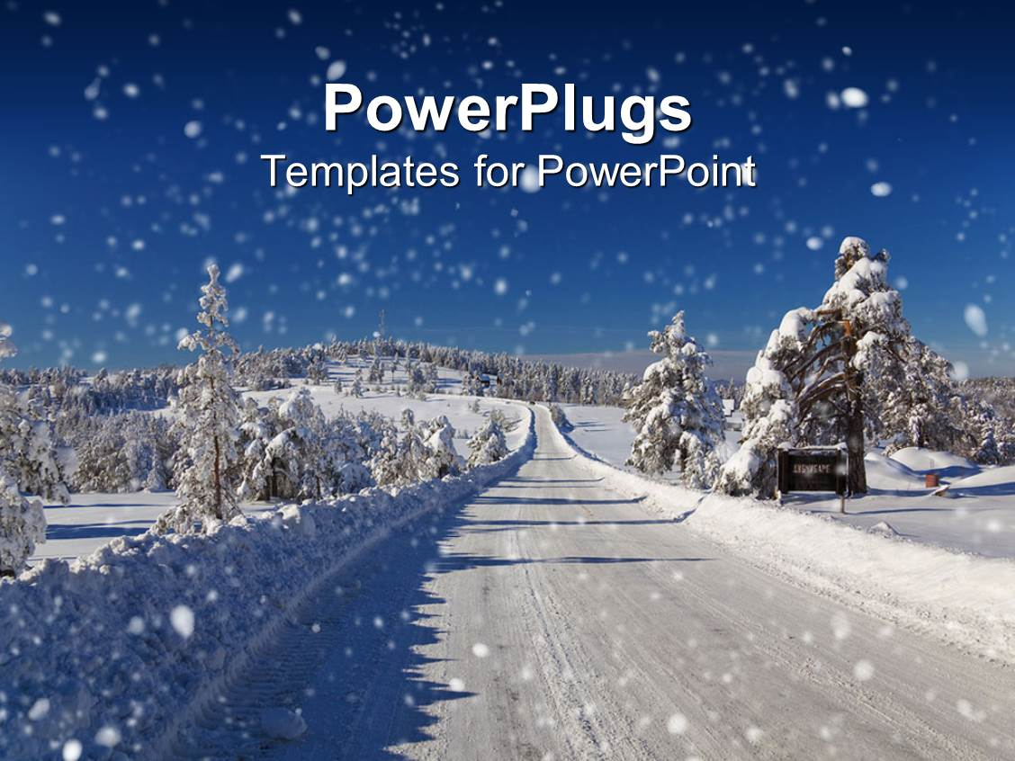 Best Winter PowerPoint Templates | CrystalGraphics