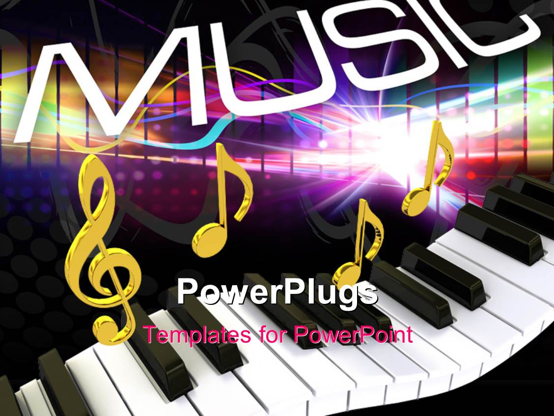 Music Template For Powerpoint